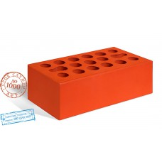 Кирпич керамический полуторный лицевой красный Керма 1,4 НФ