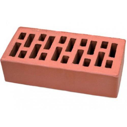 Кирпич керамический пустотелый утолщенный 1,4НФ красный