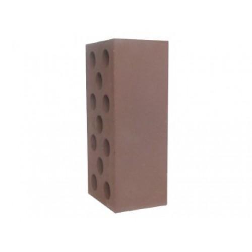 Кирпич силикатный гладкий утолщенный коричневый 1,4НФ Глубокинский