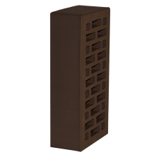 Кирпич лицевой одинарный 1НФ шоколад