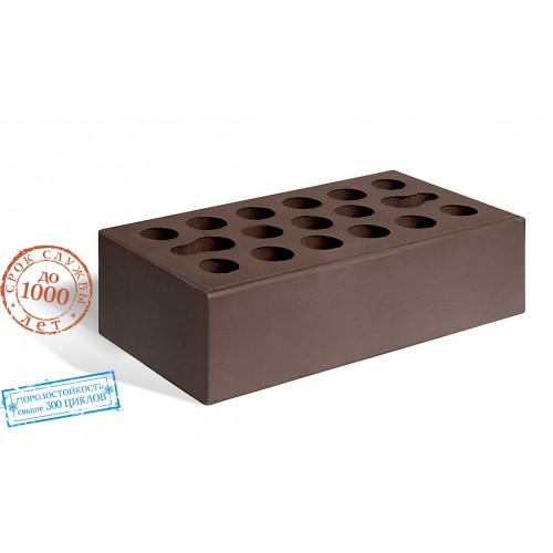 Кирпич керамический одинарный лицевой шоколад Керма 1 НФ