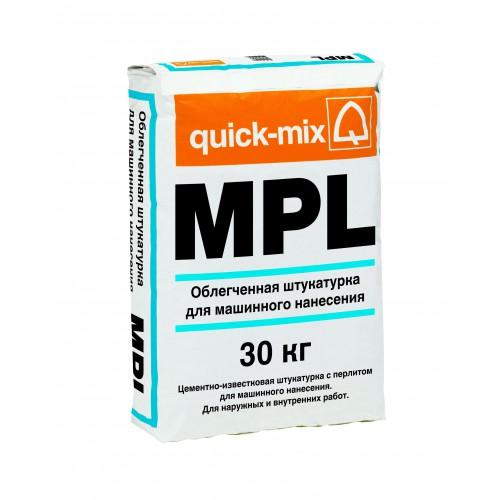 Облегченная штукатурка для машинного нанесения MPL wa