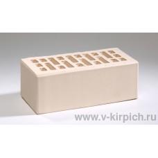 Кирпич лицевой белый жемчуг утолщенный ГОСТ 530-2012 Воротынск