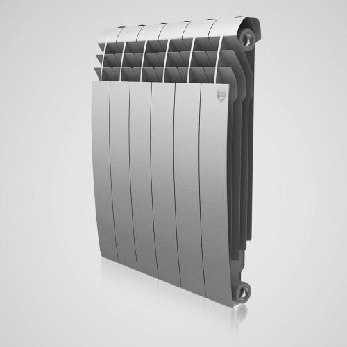 Радиатор биметалл Royal Thermo BiLiner 500 Silver Satin