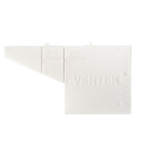 Вентиляционная коробочка белая VENTEK