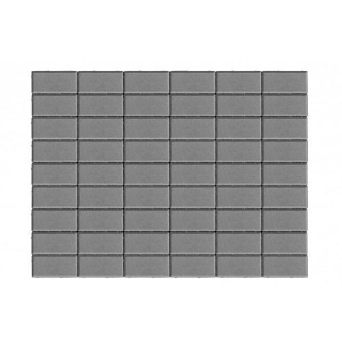 Тротуарная плитка ПРЯМОУГОЛЬНИК «Серый»