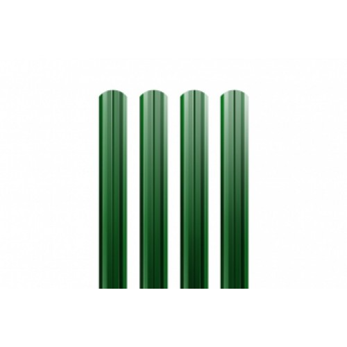 Металлический евроштакетник Гранд Хаус (зеленый)