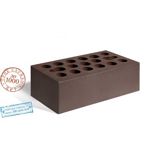 Кирпич керамический полуторный лицевой шоколад Керма