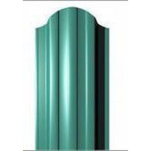 Металлический евроштакетник Эко Нова (зеленый)