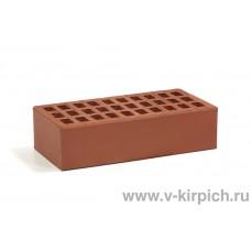Кирпич лицевой бордо одинарный ГОСТ 530-2012 Воротынск