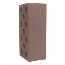 Кирпич силикатный утолщенный гладкий коричневый 1,4 НФ Глубокинский