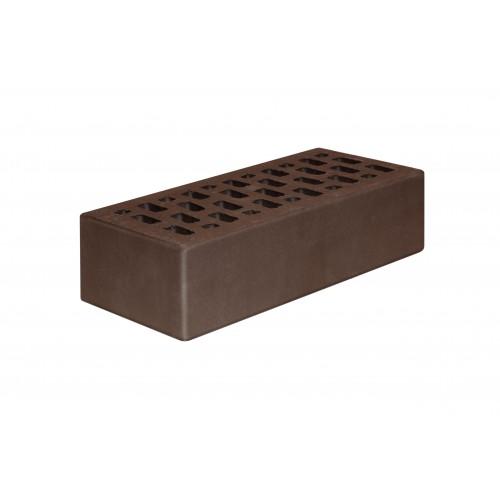 Кирпич лицевой пустотелый одинарный шоколад клинкер 1НФ