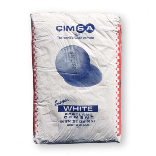 Цемент белый Cimsa CEM I 52.5 R