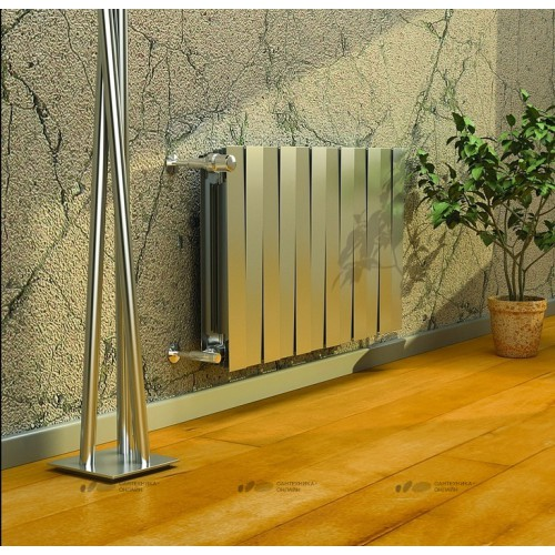Радиатор биметалл Royal Thermo PianoForte 500/Silver Satin