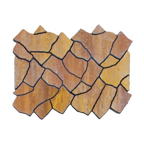 Тротуарная плитка САН-ТРОПЕ COLOR MIX Тип 1 «Каньон»
