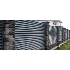 Забор жалюзи Виола
