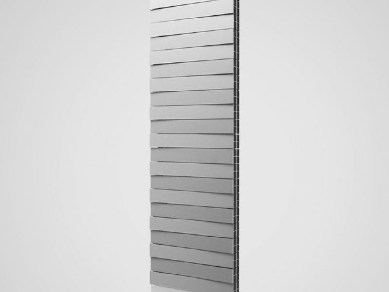 Радиатор Royal Thermo PianoForte Tower/Silver Satin - 18 секц..
